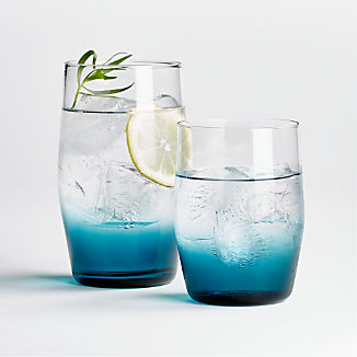 Fade Blue Ombre Glasses