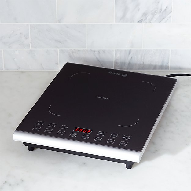 Fagor Induction Pro Black Cooktop