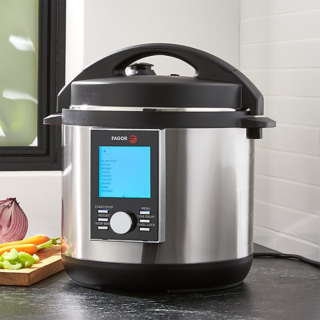 Fagor Lux Electric LCD 6-Qt. Multicooker