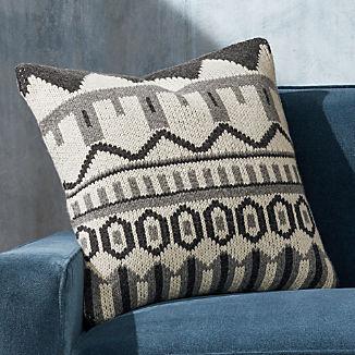 Fair Isle Knit Pillow