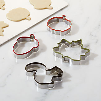 Fall Cookie Cutters, Set of 4