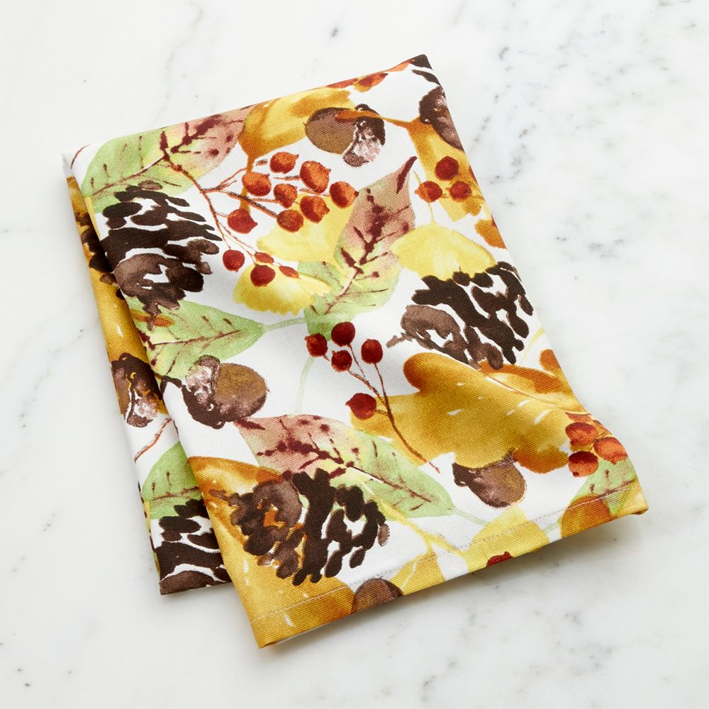 Fall Foliage Dish Towel