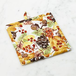 Fall Foliage Pot Holder