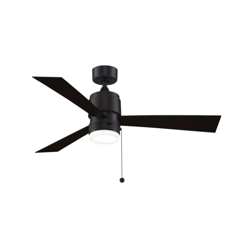 Marvelous Fanimation Zonix 52 Black Indoor Outdoor Ceiling Fan With Led Light Reviews Crate And Barrel Download Free Architecture Designs Scobabritishbridgeorg