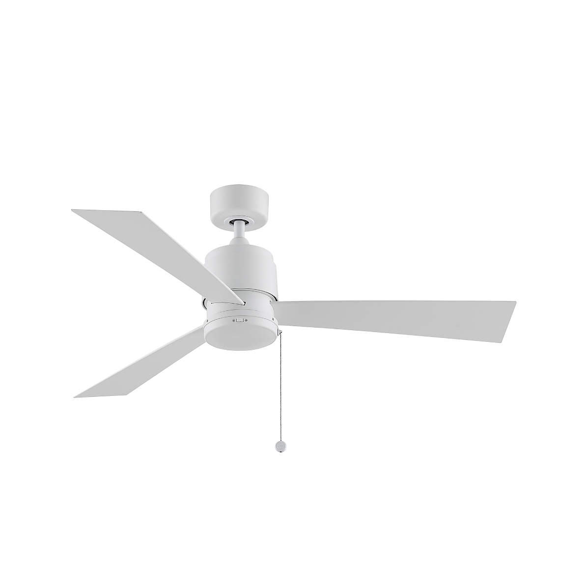 Fanimation Zonix 52 White Indoor Outdoor Ceiling Fan Crate And Barrel