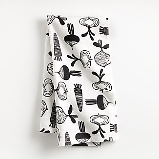 Farm Veggies Dish Towel