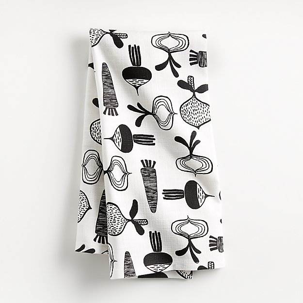 Farm Veggies Dish Towel - Image 1 of 4