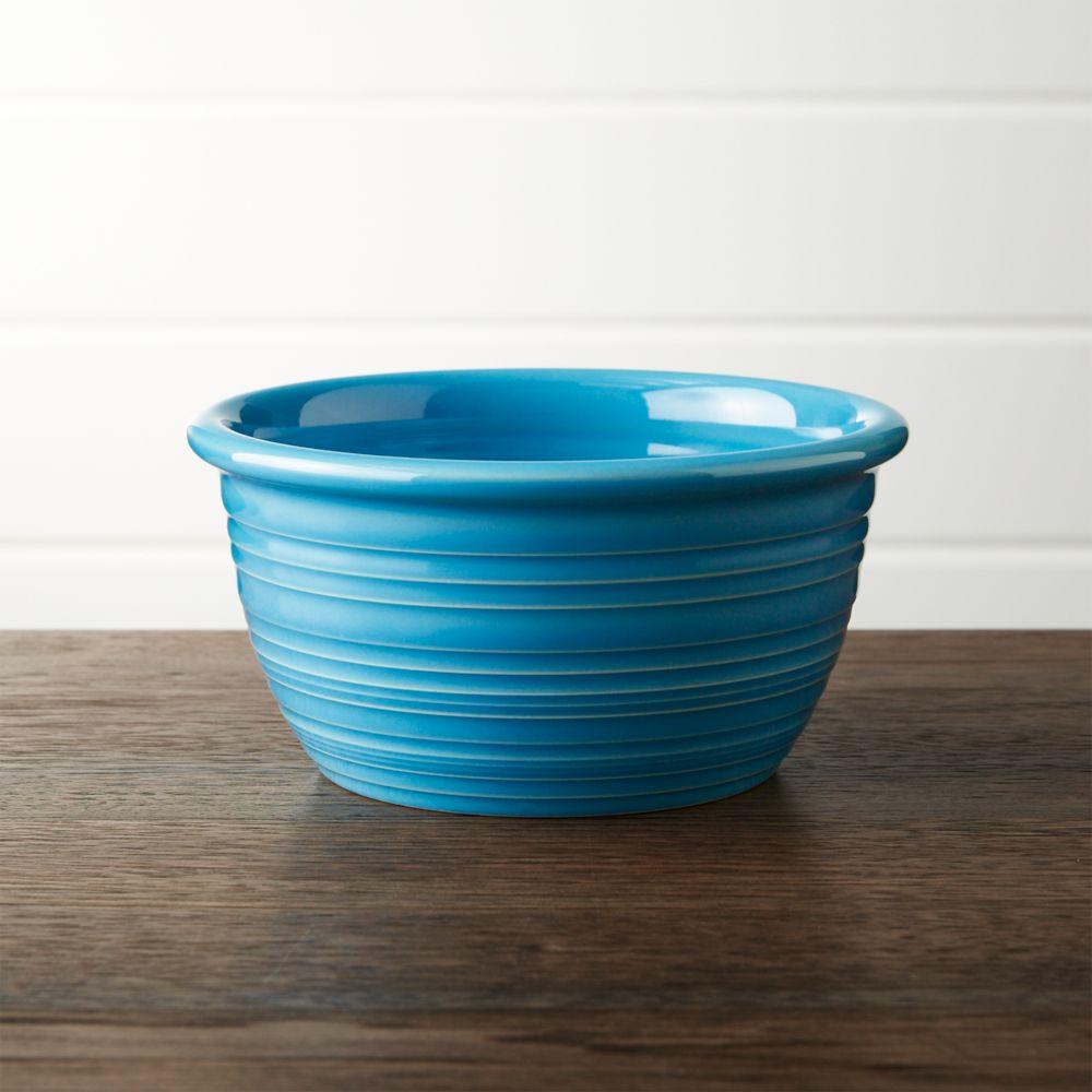 Farmhouse Aqua Cereal Bowl - Crate and Barrel