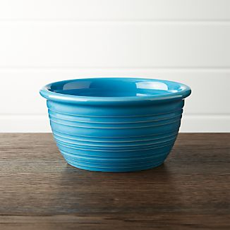 Farmhouse Aqua Cereal Bowl