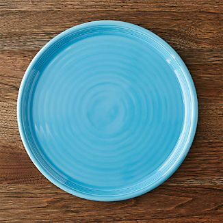 Farmhouse Aqua Dinner Plate