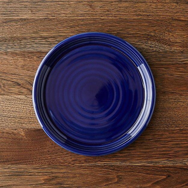 Farmhouse Blue Salad Plate