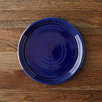 Farmhouse Blue Salad Plate