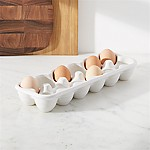 Farmhouse Ceramic Egg Crate
