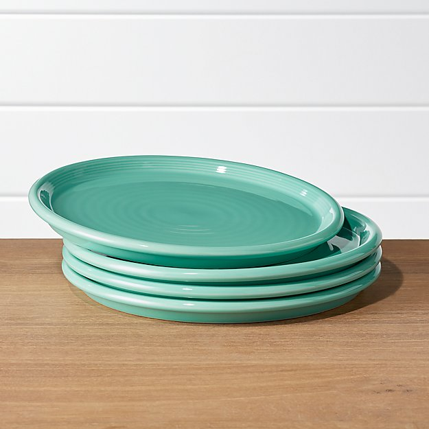 Relatively Farmhouse Mint Green Dinner Plates, Set of 4 + Reviews | Crate and  VJ39