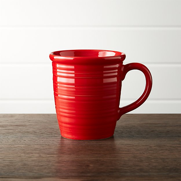 Farmhouse Red Mug