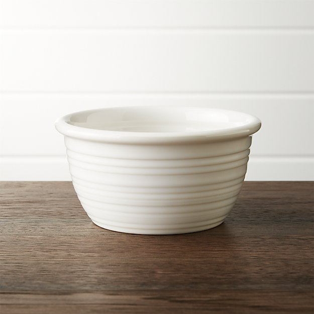 Farmhouse White Cereal Bowl - Image 1 of 6