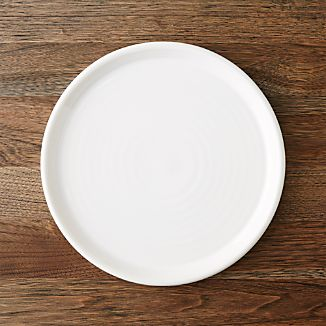 Farmhouse White Dinner Plate
