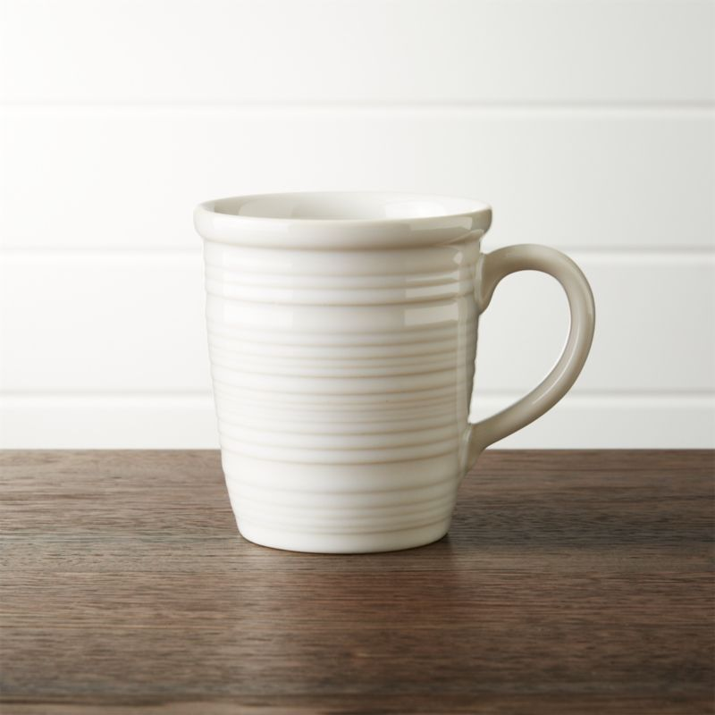 Farmhouse White Mug Reviews Crate And Barrel