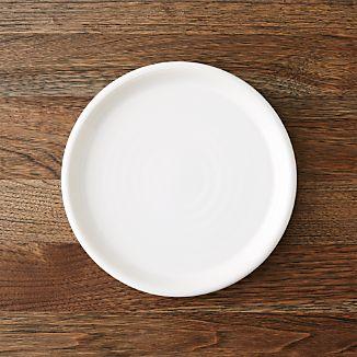 Farmhouse White Salad Plate