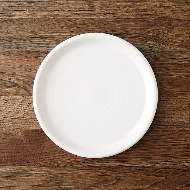 Farmhouse White Salad Plate - Image 1 of 7
