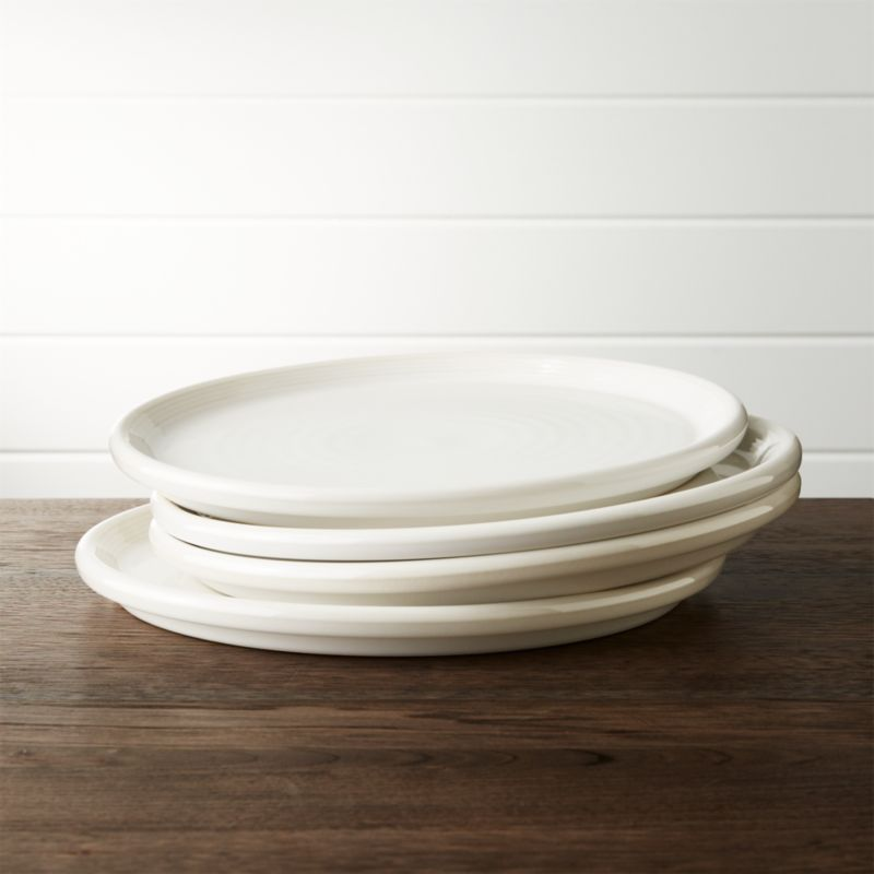 : white dinner plate set - pezcame.com
