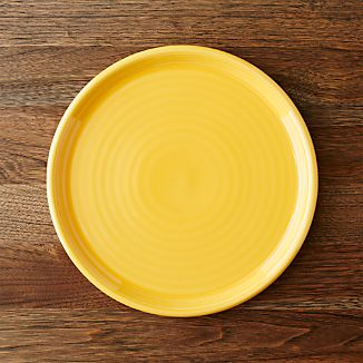 Farmhouse Yellow Dinner Plate