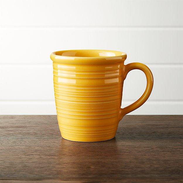 Farmhouse Yellow Mug