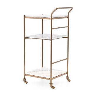 Farrah Marble Bar Cart