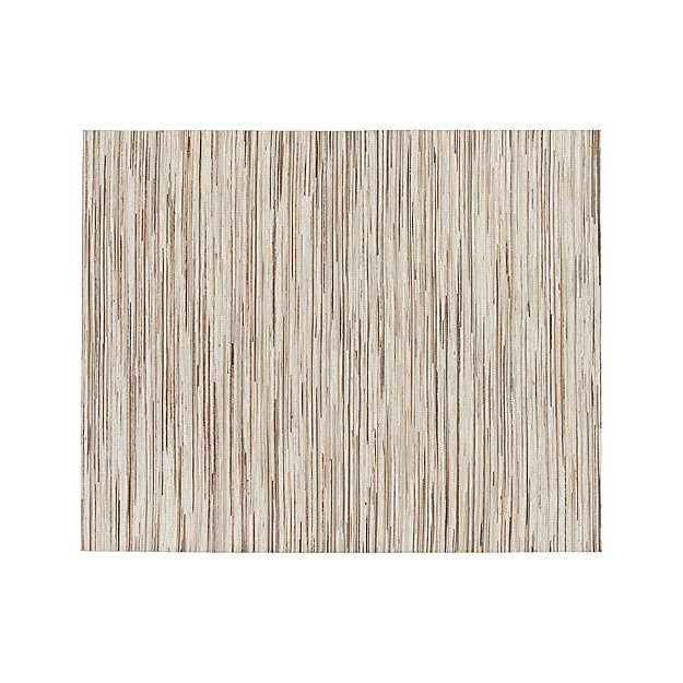 Faust Striped Cowhide 8 X10 Rug Crate And Barrel