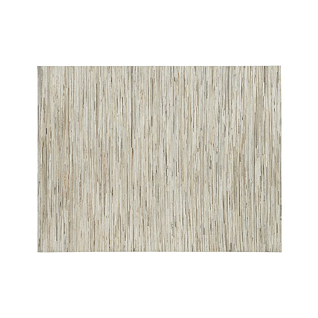 Faust Striped Cowhide 9 X12 Rug Crate And Barrel