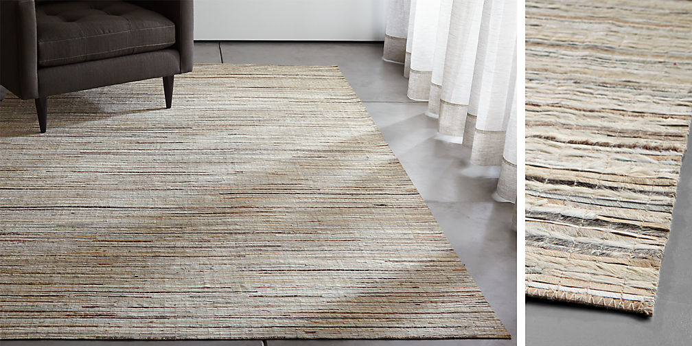Area Rugs Small And Large Rugs Crate And Barrel