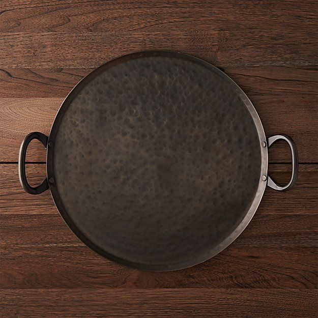 Iron Serving Tray Reviews Crate And Barrel