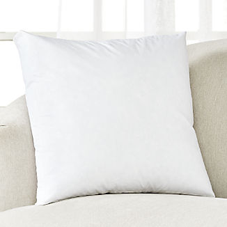 Feather-Down Box Pillow Insert 20""