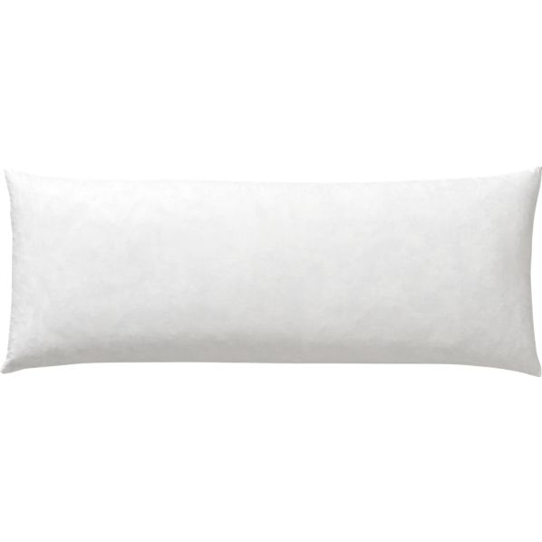 "Feather-Down 30""x12""  Pillow Insert"