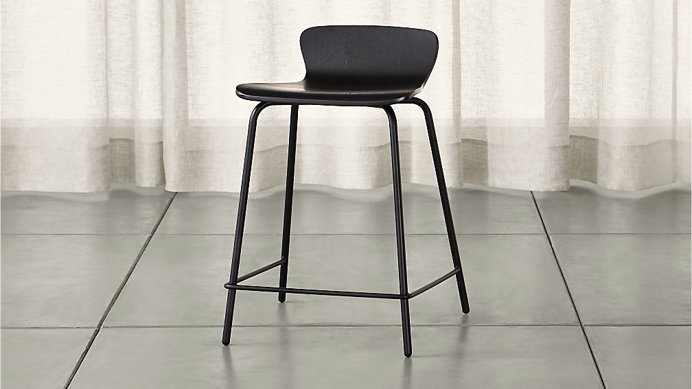 2c586506841 Felix Black Counter Stool + Reviews