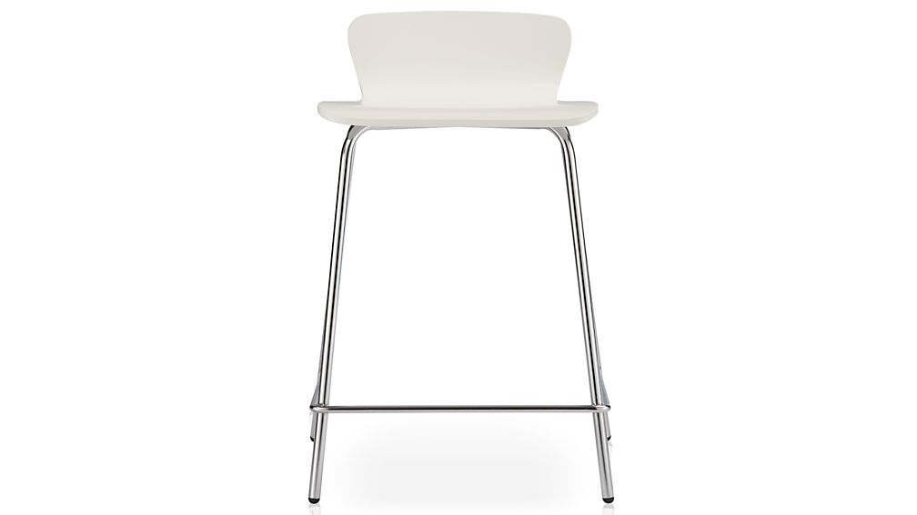 white bar stools felix white counter stool reviews crate and barrel 29648