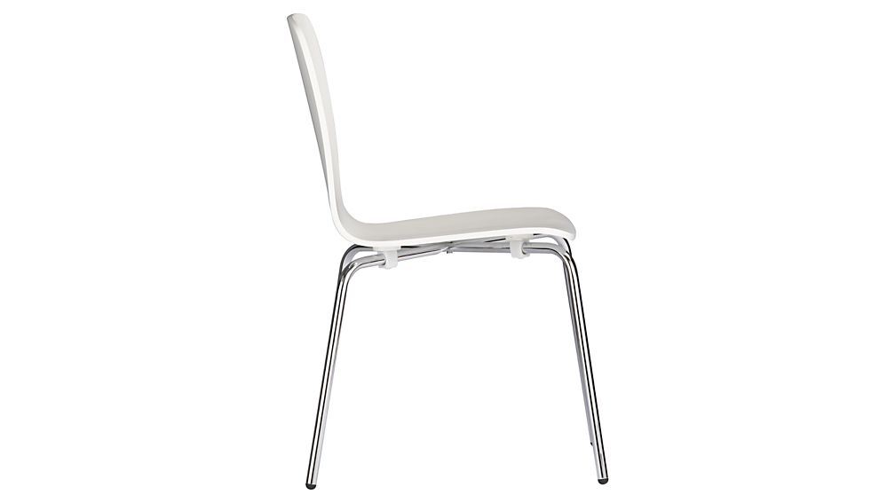 Felix White Dining Chair