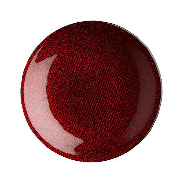 Feliz Red Appetizer Plate