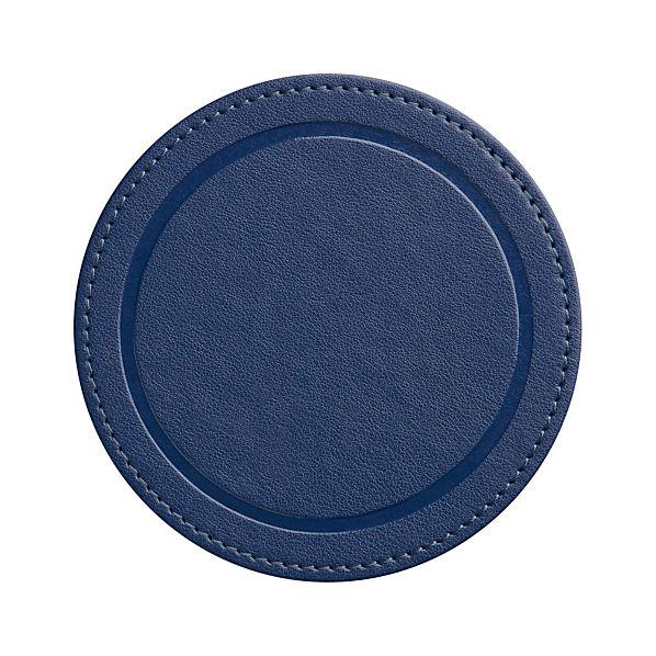 Feliz Blue Coasters