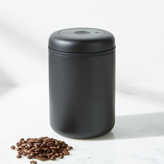 Fellow Atmos 1.2-Liter Matte Black Stainless Steel Vacuum Canister - Image 1 of 2