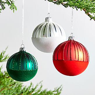 Felt Ball Ornaments