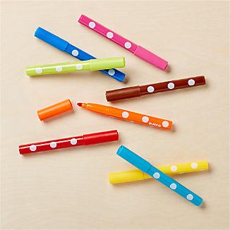 Djeco Felt Tip Markers, Set of 8