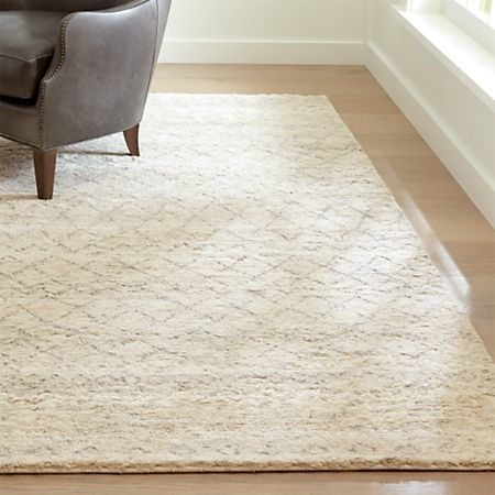 Ferraco Grey Moroccan Rug | Crate and