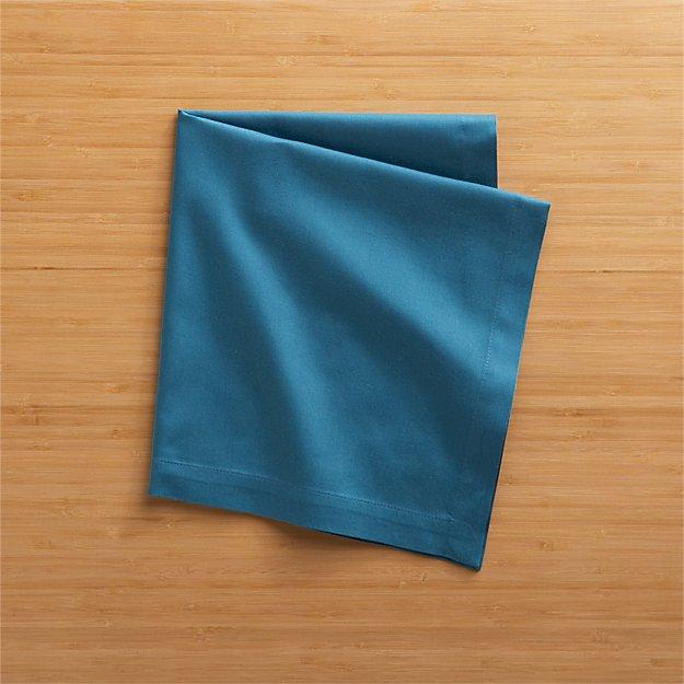 Fete Corsair Blue Cloth Napkin - Image 1 of 10