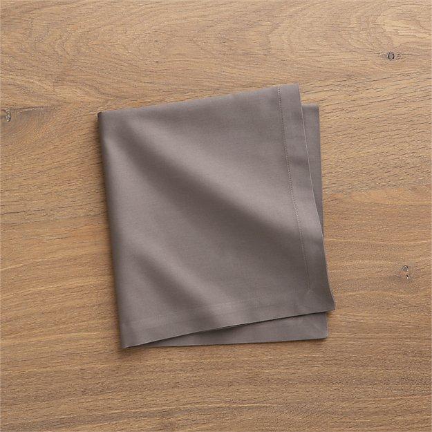 Fete Pewter Grey Cloth Napkin - Image 1 of 12