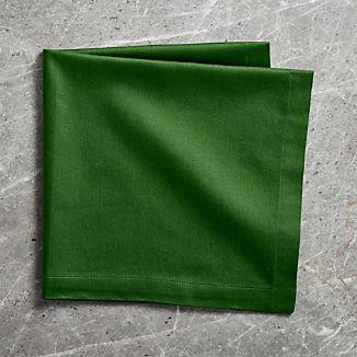 Fete Dark Green Cotton Napkin
