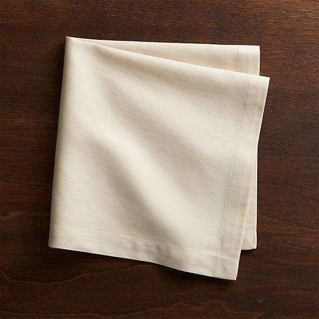 Fete Ecru Ivory Cloth Napkin