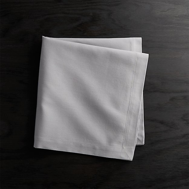 Fete Grey Cotton Napkin - Image 1 of 3