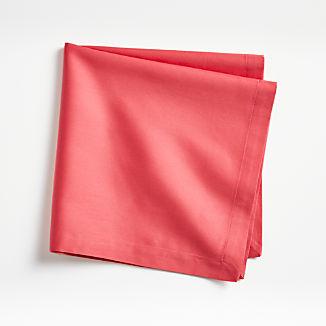 Fete Raspberry Red Cotton Napkin