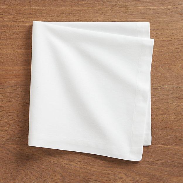 Fete White Cloth Napkin - Image 1 of 8
